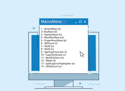 Getting started with macros in MS Word
