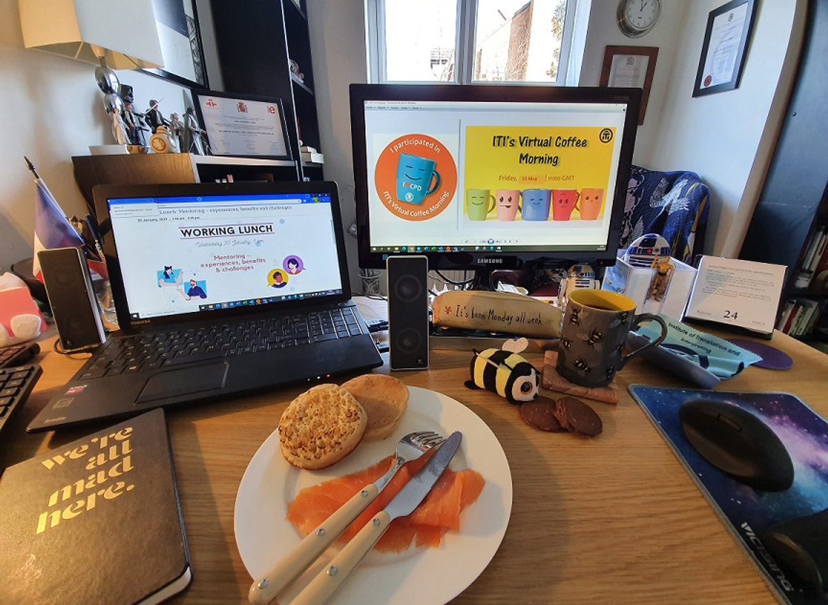 Online networking: Virtual Coffee Morning